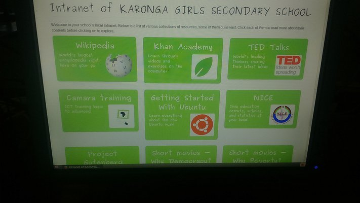 Karonga Girls intranet