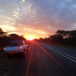 The road from Lilongwe to
